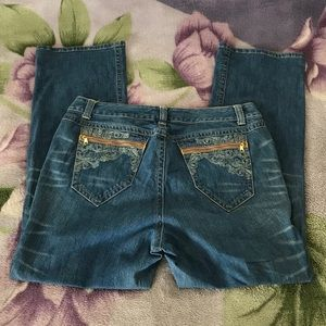 Plus Size Straight Leg Jeans by Venezia